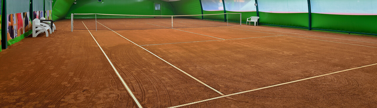Sport Halls s.c. Ziegelmehlbeläge