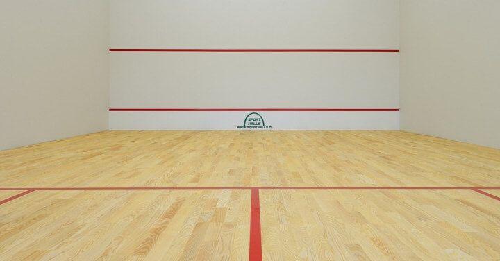 Squashhallen und Käfigen
