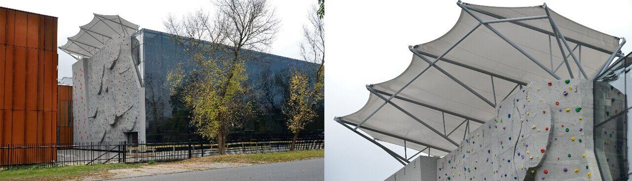 Sport Halls s.c. Membran-Dacheindeckung und -Wandbekleidung